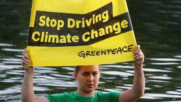 Pausa.mx Greenpeace, Londres
